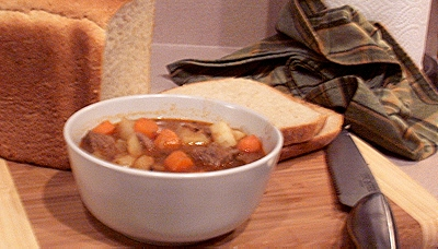 Irish Stew and Oat Bread